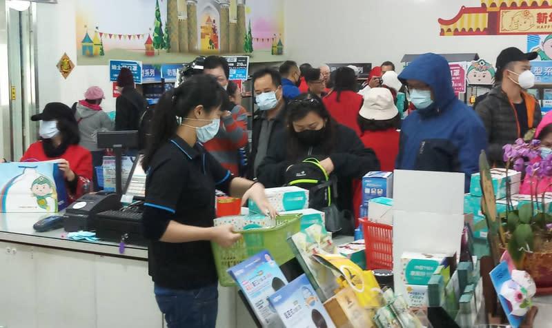 你認不認同台灣禁止出口口罩1個月?