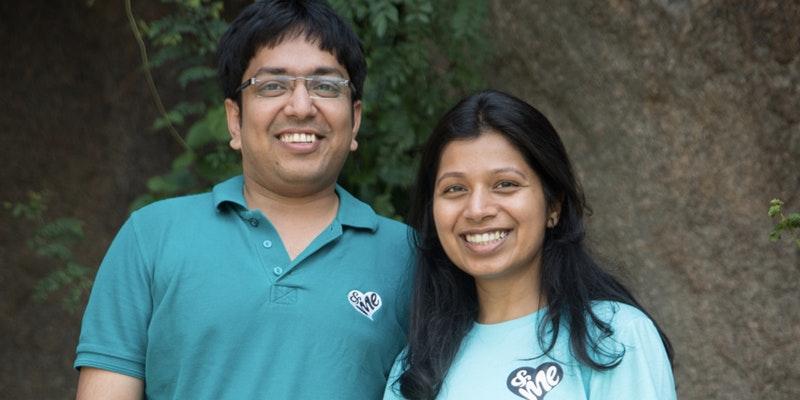 Ankur & Sheta, Founders of &Me