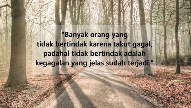 Kata-kata inspirasi hidup saat hadapi kegagalan (sumber: Pixabay)