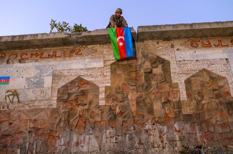 'Reclaimed ruins': Azerbaijan shows off Karabakh conquests