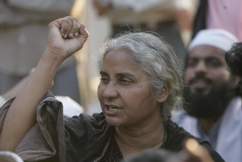 Medha Patkar (Photo by Santosh Harhare/Hindustan Times via Getty Images)