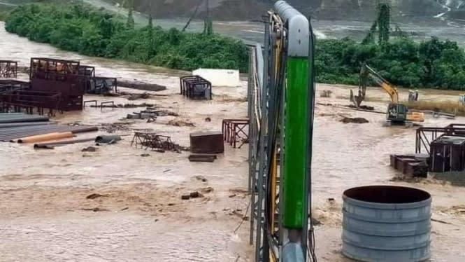 Perusahaan Tambang Nikel China di Halhamera Tengah Direndam Banjir
