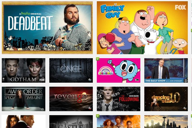 Hulu Plus Browse