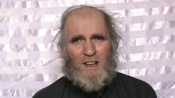 Kevin King, salah satu profesor yang diculik Taliban (AP)