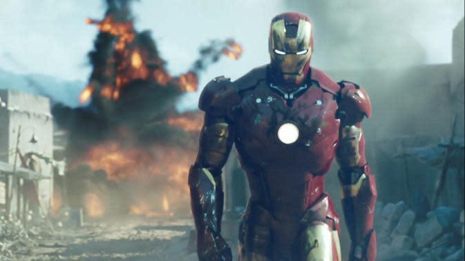 Perubahan Kostum Iron Man dari Masa ke Masa (Marvel Studios / sumber:logcchs)