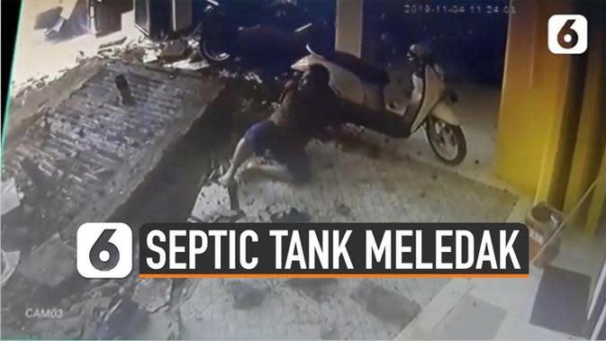 VIDEO Penjelasan Ilmiah Septic Tank Meledak yang Viral