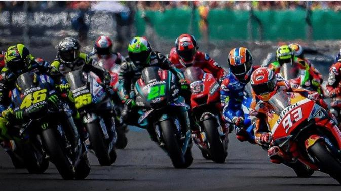 Ilustrasi MotoGP. (MotoGP)