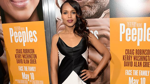 Why We Love Kerry Washington: 'Scandal' Star Acts Silly in 'Peeples' Post Serious 'Django Unchained'