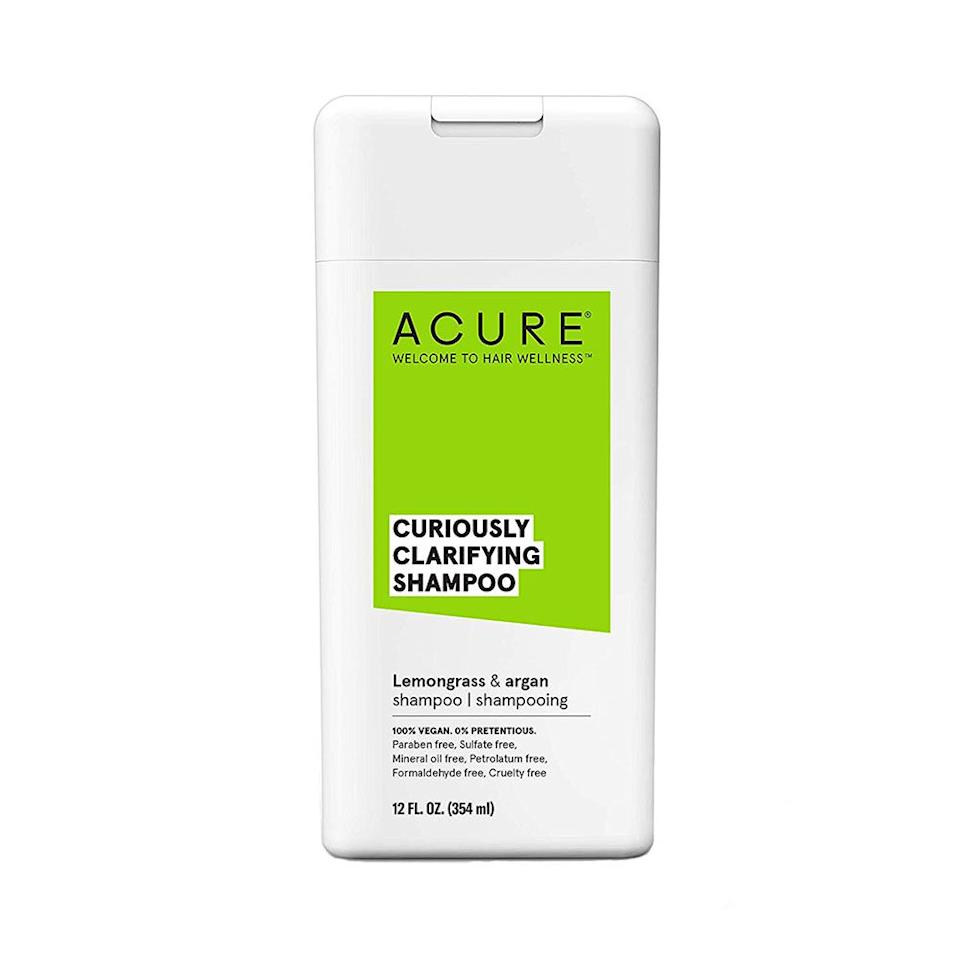 """<p><strong>Acure</strong></p><p>amazon.com</p><p><strong>$7.64</strong></p><p><a href=""""https://www.amazon.com/dp/B078ZHRFWG?tag=syn-yahoo-20&ascsubtag=%5Bartid%7C2089.g.220%5Bsrc%7Cyahoo-us"""" target=""""_blank"""">Shop Now</a></p><p>Looking to go all-natural on a budget? Then this drugstore natural shampoo is your best bet: It's infused with gentle lemongrass and moisturizing argan oil, plus it's free of hair-care red flags like parabens and sulfates.</p>"""