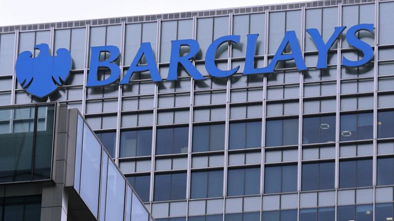 Barclays bank building in London