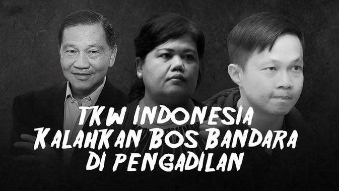 VIDEOGRAFIS: TKW Indonesia Kalahkan Bos Bandara Changi di Pengadilan
