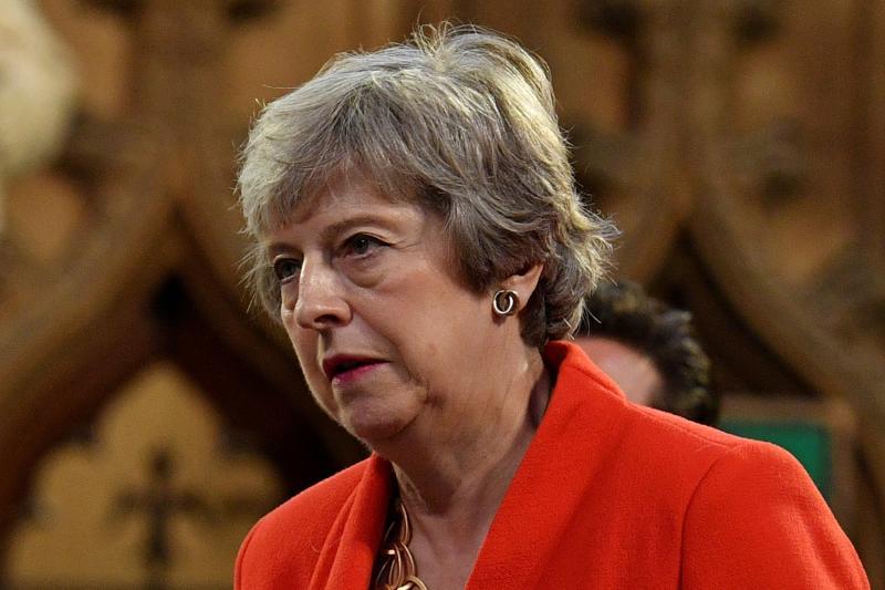 Theresa May (file photo): REUTERS