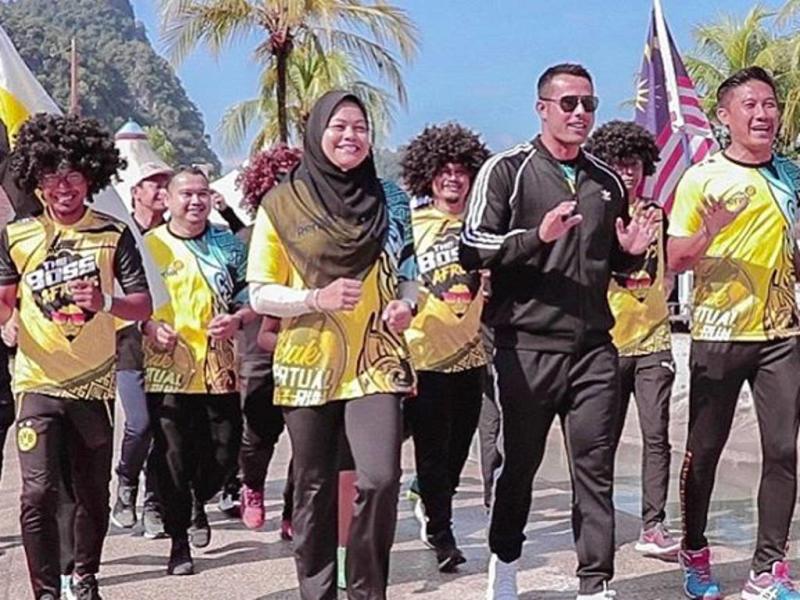 Zul Ariffin encourages Malaysians to take part in Perak Virtual Run 2020.