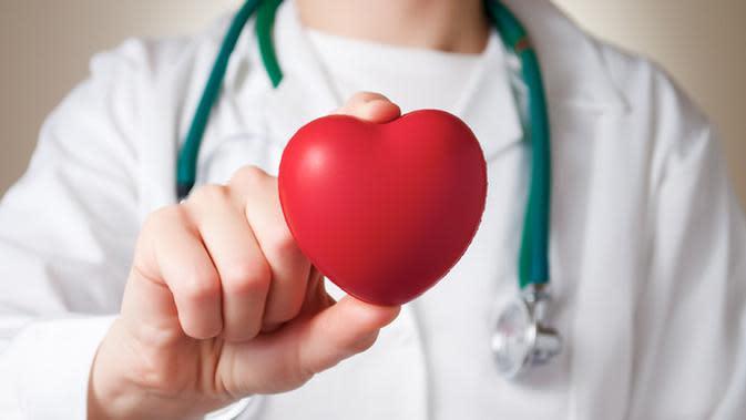 Ilustrasi jantung (Foto: shutterstock)