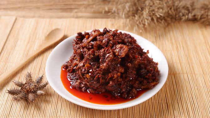 Ilustrasi sambal roa | Shutterstock