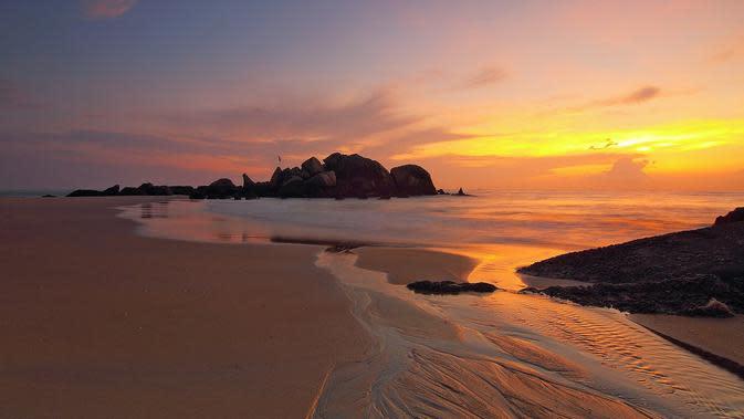 Ilustrasi pantai (sumber: Pixabay)