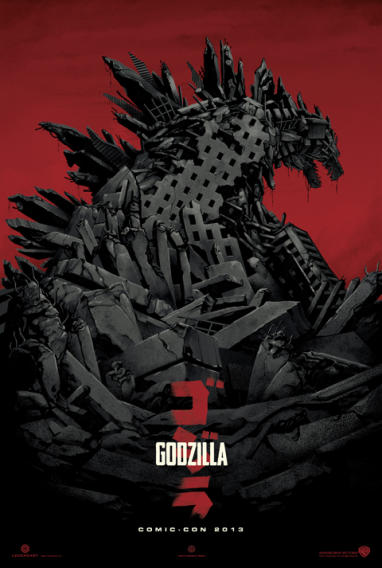 """Godzilla"" by Phantom City Creative - 24"" x 36"" Edition of 275"