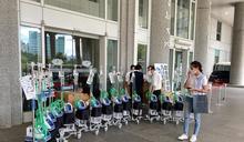 賈永婕端午節跑5家醫院捐HFNC 韓國瑜致謝:患難見真情
