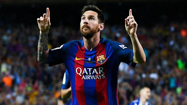 b5bb6ac1 Lionel Messi agrees new Barcelona contract