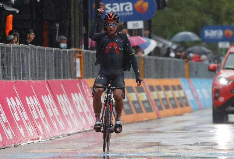 Ecuador's Narvaez wins Giro d'Italia 12th stage, Almeida stays in pink