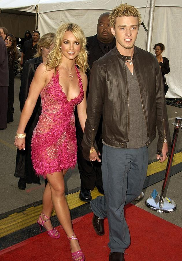 Justin Timberlake and Britney Spears. Source: Getty