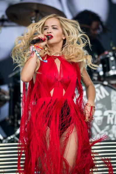 Rita Ora Sizzles as the New Face of Madonna's 'Material Girl' Line