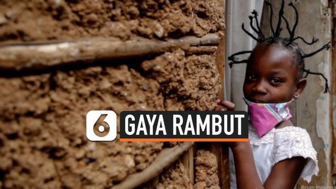VIDEO: Gaya Rambut Virus Corona Popular di Afrika Timur