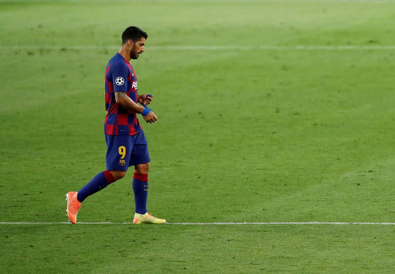 Suarez cuts Barca contract, agrees Atletico terms - reports