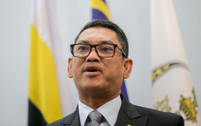 The Mentri Besar's Office in a statement today said that Datuk Seri Ahmad Faizal Azumu decided to self-quarantine despite the negative result of his Covid-19 screening. — Picture by Farhan Najib