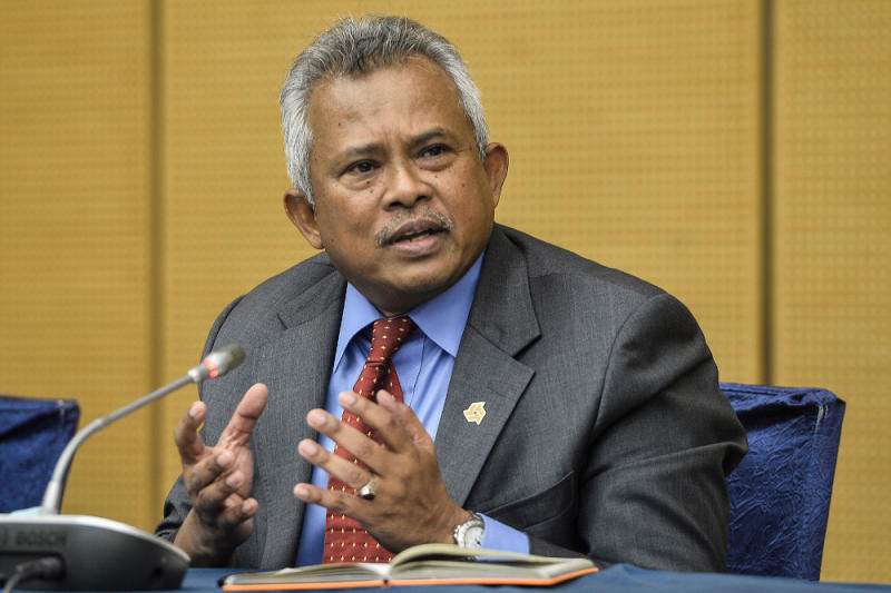 Bank Rakyat CEO Datuk Rosman Mohamed said other efforts by Bank Rakyat include sending out text messages to borrowers, opening branches even on weekends. — Picture by Miera Zulyana