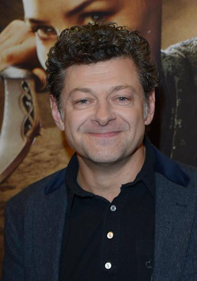 "FILE - In this Nov. 4, 2013 file photo, Andy Serkis attends VIP Screening of The Hobbit: The Desolation of Smaug in London. The cast of ""Star Wars: Episode VII"" was announced Tuesday, Aril 29, 2014, on the official ""Star Wars"" website by Lucasfilm. Actors Adam Driver, Oscar Isaac, Max von Sydow, John Boyega, Daisy Ridley, Domhnall Gleeson and Serkis will be joining the cast. (Photo by Jon Furniss/Invision/AP, File)"
