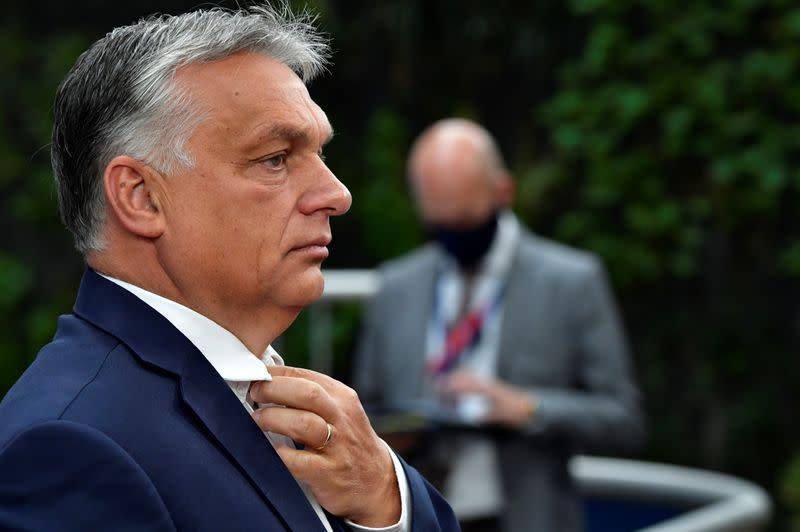 Viktor Orban says 'the Dutchman' is responsible for EU summit disarray