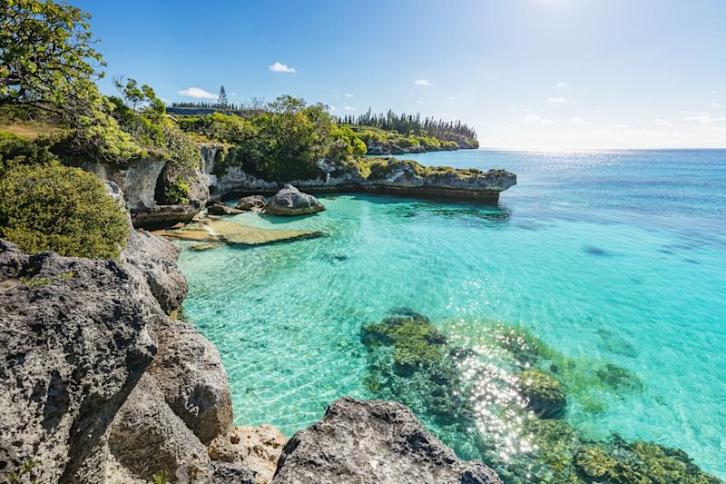 A spectacular coastline is just one thing New Caledonia has to offer. Photo: Getty Images