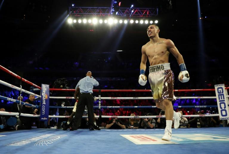 American Lopez stuns Lomachenko in lightweight unification title fight