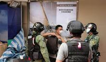 香港民眾發起九龍遊行 警搜查可疑者 (圖)