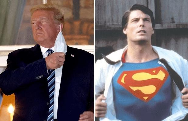 President Trump Wanted to Wear a Superman Shirt When He Left Hospital