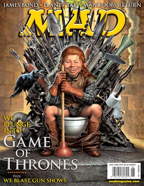 MAD Magazine Parodies 'Game of Thrones' [Exclusive Photos]