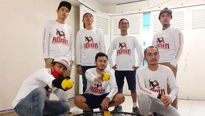 Rapper Kondang Bandung dan Bobotoh Populerkan Olahraga Roundnet