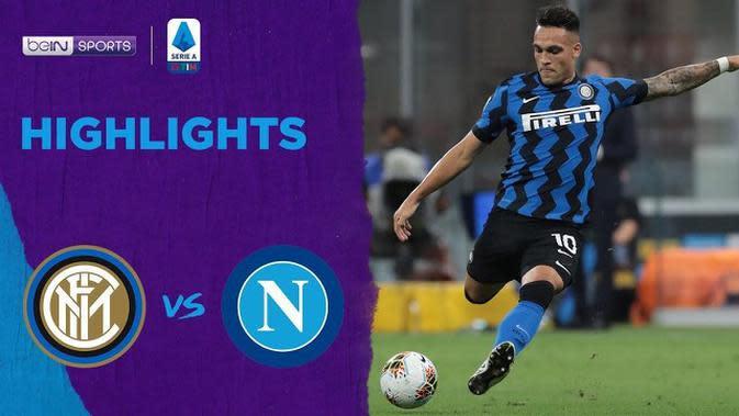 VIDEO: Inter Milan Kalahkan Napoli dan Pertahankan Posisi Kedua Klasemen Serie A