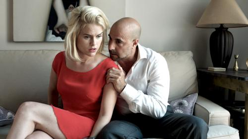 "This film image released by the Tribeca film Festival shows Alice Eve, left, and Stanley Tucci in a scene from ""Some Velvet Morning,"" a film that will be shown at the Tribeca Film Festival running April 17 through April 28, 2013 in New York. (AP Photo/Tribeca Film Festival)"