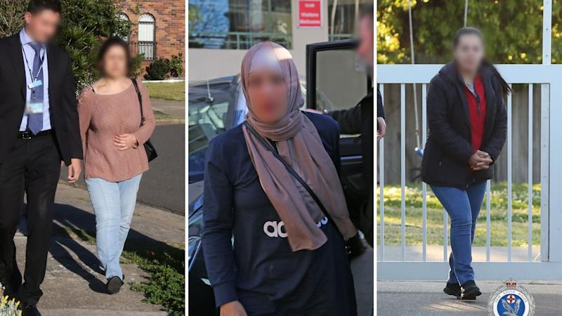 NSW Police arrest women accused of participating in childcare scam group.