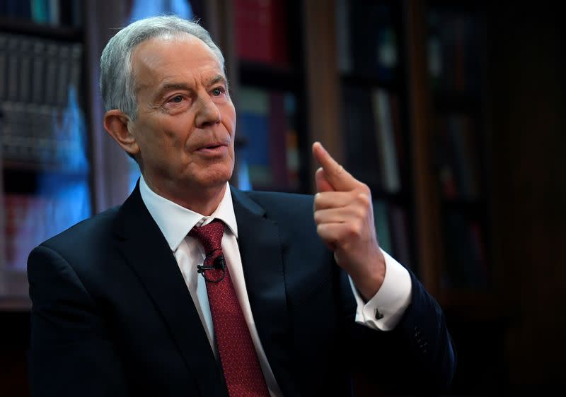 Former PM Blair accused of breaking quarantine rules after U.S. trip - Sunday Telegraph