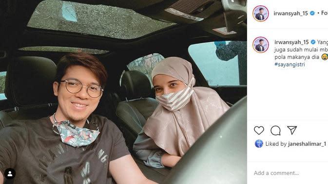 Zaskia Sungkar - Irwansyah (Foto: Instagram/@irwansyah_15)