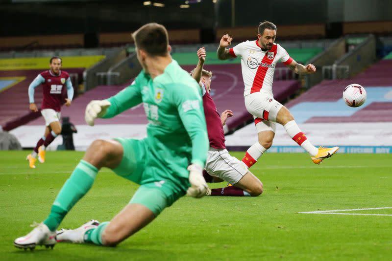 Southampton's Ings returns to sink Burnley