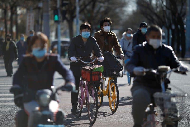 China laporkan satu kasus virus corona lokal dan 54 impor