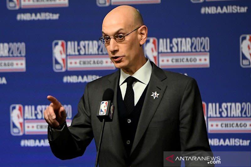 NBA bisa batal berlanjut jika penyebaran COVID-19 meningkat signifikan