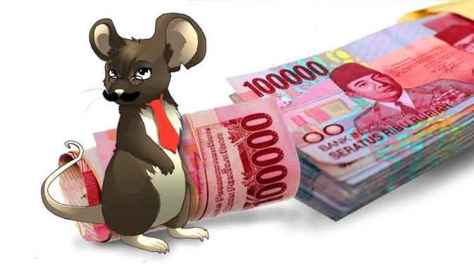Ilustrasi Korupsi