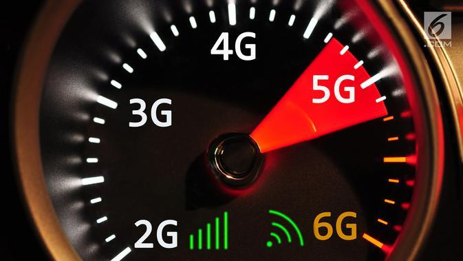 Ilustrasi 5G (iStockphoto)