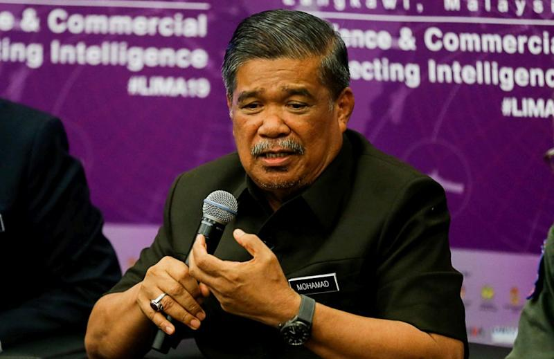 Defence Minister Mohamad Sabu said that the government is working to correct the discrepancies in the Armed Forces Fund Board (LTAT), after the National Audit Department flagged the organisation for several dubious financial management. — Picture by Sayuti Zainudin