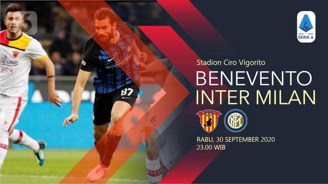 Benevento vs Inter Milan (Liputan6.com/Abdillah)